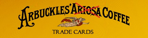 Arbuckle Coffee Trade Cards Banner
