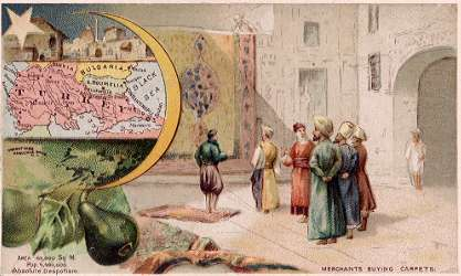 Turkey map - Merchants Buying Carpets
