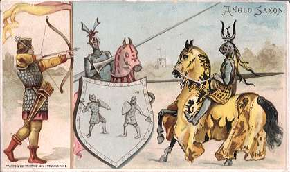 Anglo Saxon - archery, jousting