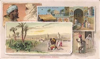 Morocco, Africa - Gateway and Bazaar