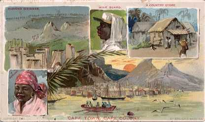 Cape Town, Cape Colony - Diamond Diggings; Country Store