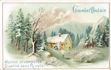 Chocolat Poulain - trade card