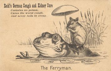 The Ferryman - Reid's German Cough and Kidney Cure
