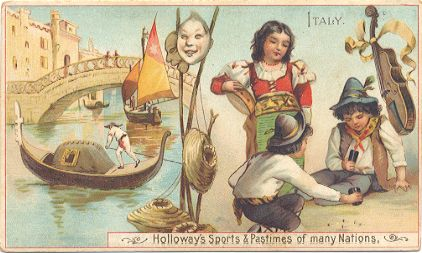 Holloway's Sports & Pastimes - Italy
