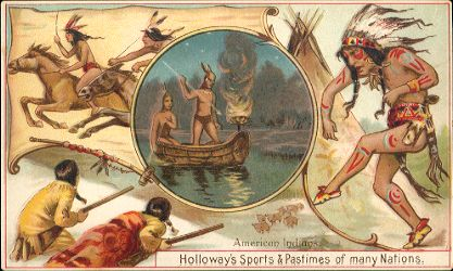 Holloway's Sports & Pastimes - American Indians