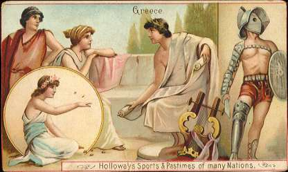 Holloway's Sports & Pastimes - Greece